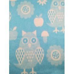 Одеяло Хлопок100% Cова голубая