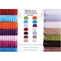 Wella Petrol Mavi (бирюзовый) Полотенце банное