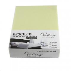 Простынь на резинке трикотажная (PT салатовая)